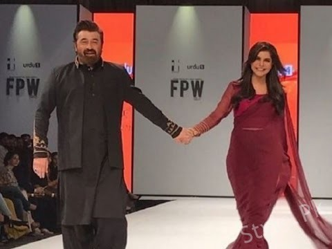 Nida And Yasir Walk The Ramp Together