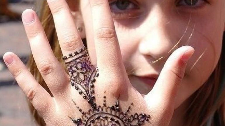 Beautiful Mehndi Designs For Kids, Mehndi Designs For Kids