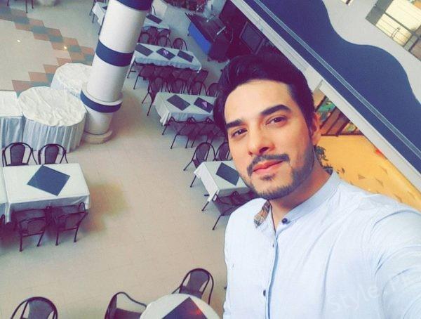 Super Star Kanwar Arsalan Latest Shot For Upcoming Eid Show With Fatima Kanwar