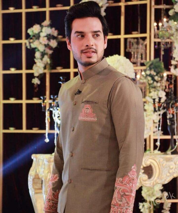 Kanwar Arsalan Latest Shot For Upcoming Eid Show With Fatima Kanwar