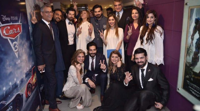 Special Screening Of Yalghaar In Karachi