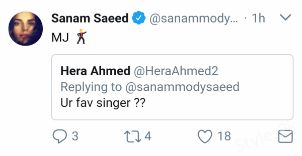 see #AskSanam Session on Twitter by Sanam Saeed!
