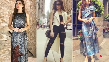 See Ayesha Omar's Top Looks from Yalghaar's Promotions