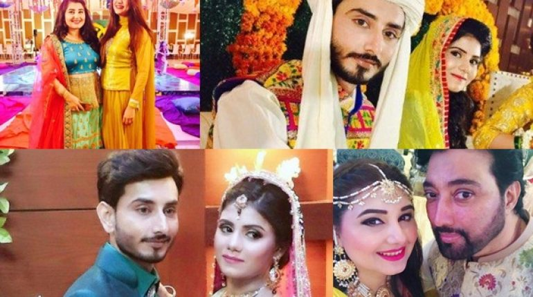 See Complete Wedding Album of Javeria Saud's Siblings