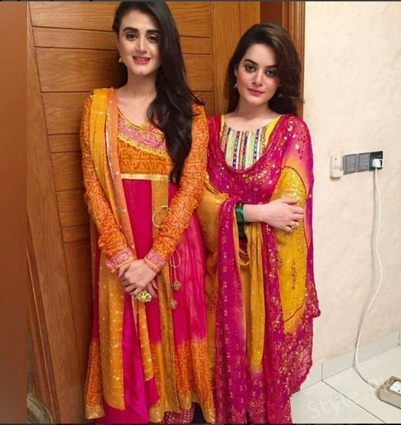 Beautiful Hira Mani on Set Of her Upcoming Drama Serial