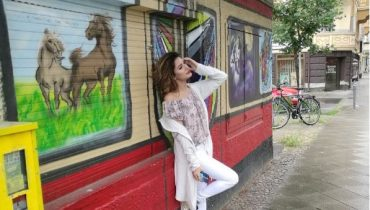 See Mehwish Hayat Having Fun in Berlin