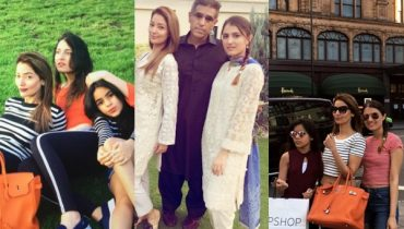 See Natasha Hussain with her Daughters