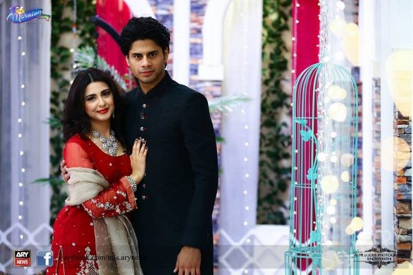 See Newly Wed Couple Haris Waheed and Maryam Fatima in The Morning Show