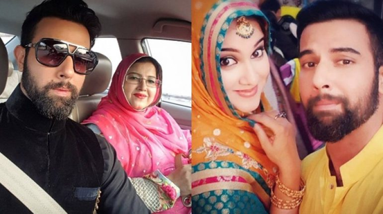 See Noor Hassan with his Family at his Cousin's Wedding