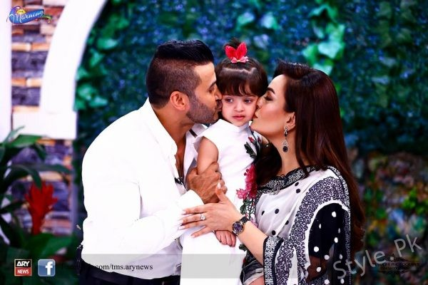 See Sadia Imam with her Husband and Daughter in The Morning Show