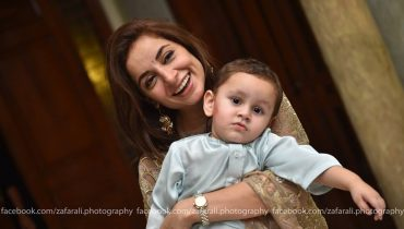 See Sarwat Gilani and Fahad Mirza Celebrated their Son's second Birthday