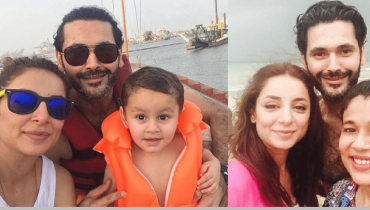 See Sarwat Gillani and Fahad Mirza having Quality Time with Family