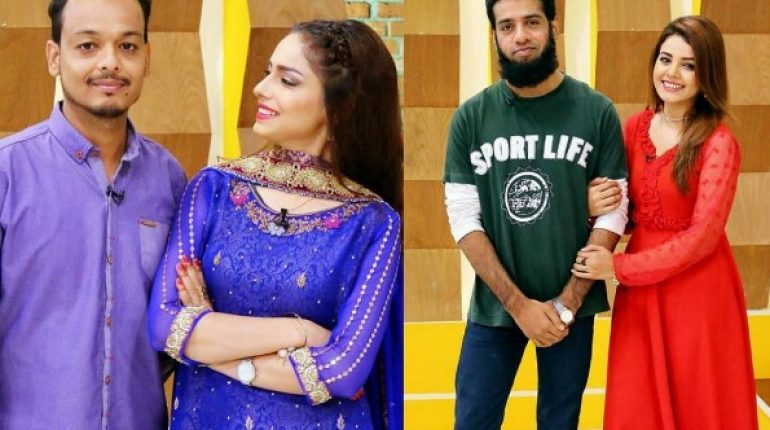 See Actress Sukynah Khan and Isha Noor with their Brothers