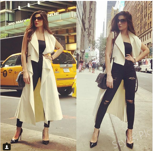 Ayesha Omar best looks from the Yalghaar promotions