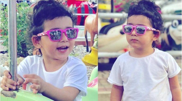 See Hoorain Taimoor sets Style Goals for Kids