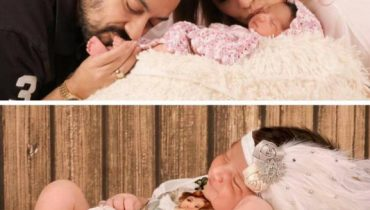 See Adnan Sami with his Wife and Newly Born Daughter