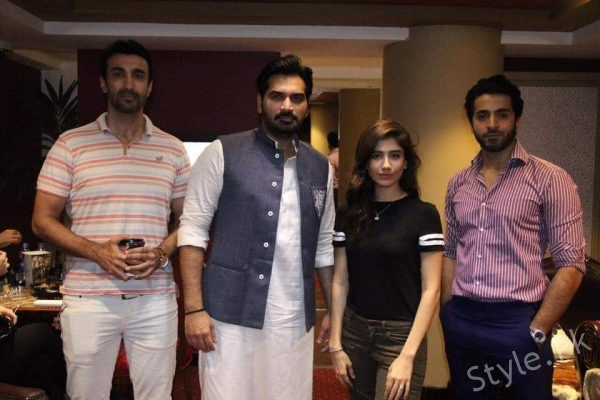 See Syra Shehroz and Sheryar Munawar Started Promotions of Film Ghazi