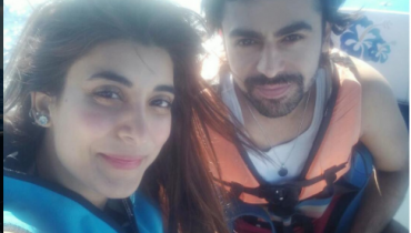 See Urwa Hocane and Farhan Saeed parasailing Together