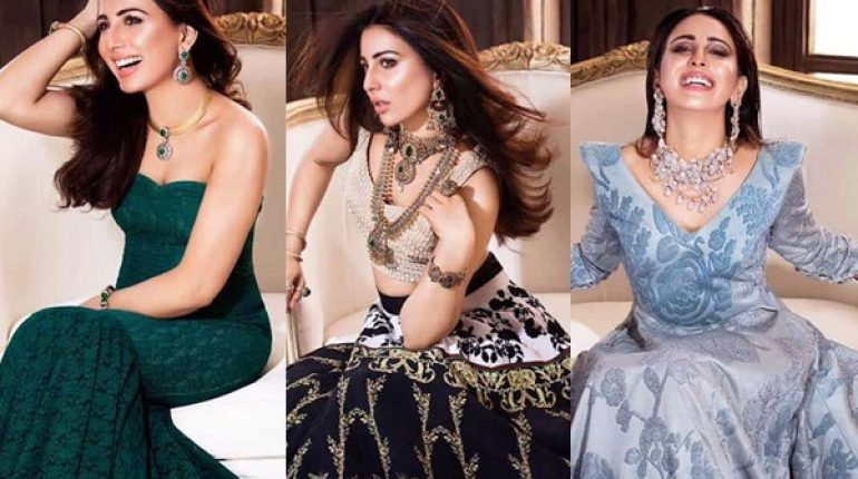 See Ushna Shah's Photoshoot for Afzal Jewellers