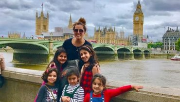 See Nimra Khan Vacationing in London