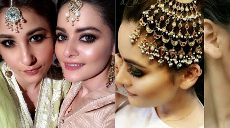 See Minal Khan and Hina Altaf's Photoshoot for Maria B