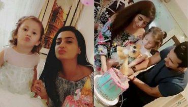 See Syra Shehroz and Shehroz Sabzwari Celebrated their daughter 3rd Birthday