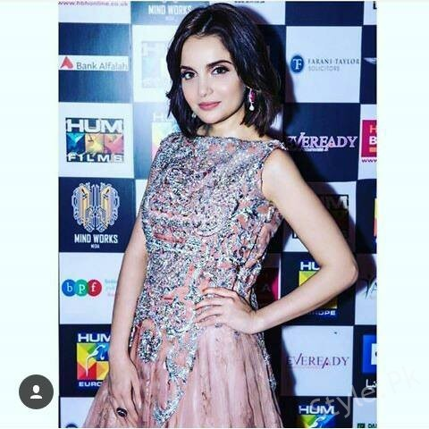 Armeena Khan  In London At The Premier Of Her Upcoming Movie