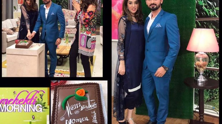 See Noman Habib Celebrated his birthday with Wife in Mehekti Morning