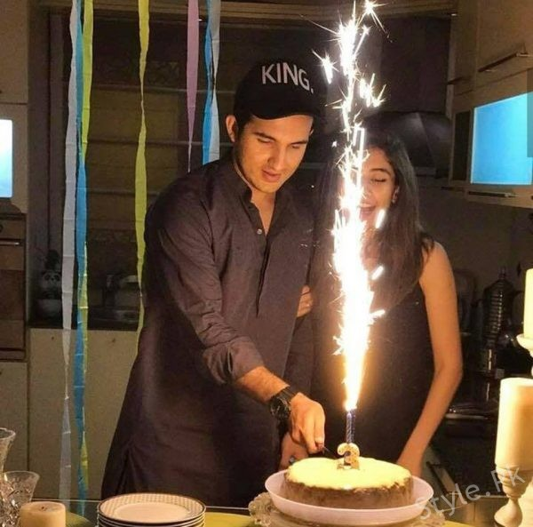 See Shahroz Sabzwari's Birthday Celebrations