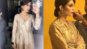 See Amna Babar Looks Stunning in her Latest Shoot for Umer Sohail