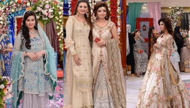 See Beautiful Pakistani Bridal Walima Dresses
