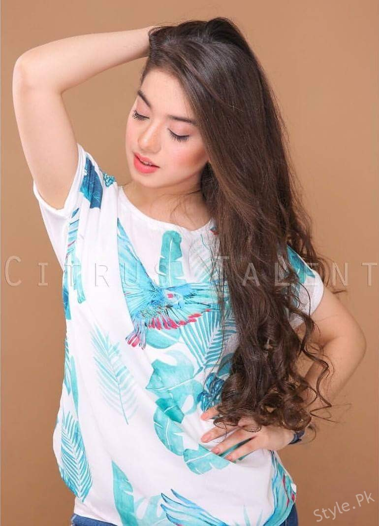 Beautiful Pictures Of Arisha Razi From A Recent Shoot