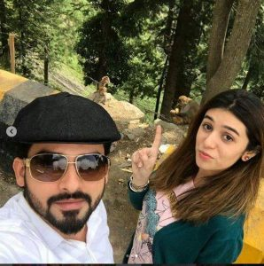 Noman Habib and Asma Habib spending time together