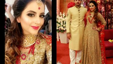 See Fatima Effendi and Kanwar Arsalan as Bride and Groom