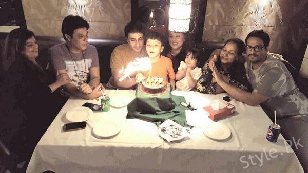 See Kamran Jilani Celebrated his Birthday With Family