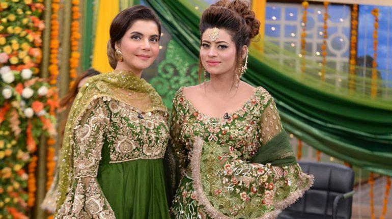Mehndi Dresses : Latest mehndi dresses and makeup