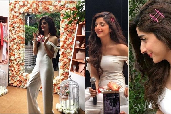 See Mawra Hocane at Fair and Lovely BB Cream Meet up