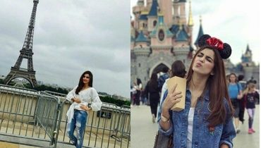 See Maya Ali Vacationing in Paris