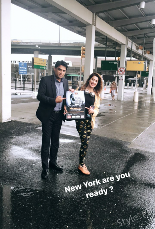 see Mehwish Hayat is Going to Rock New York!