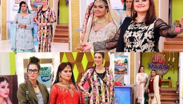 See Pakistani Actresses and their Maids doing Catwalk