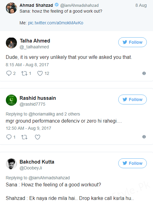 Ahmed Shehzad Once Again Become The Victim Of Hilarious Twitterati