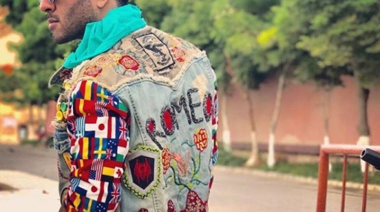 See Why is Feroze Khan carrying a Jacket that Says Romeo?