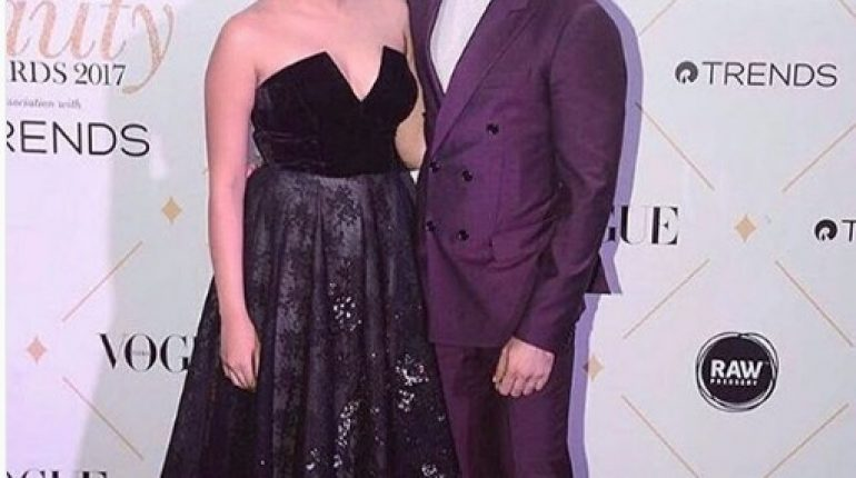See The Power Couple Shahid Kapoor and Mira Rajput at Vogue Awards 2017