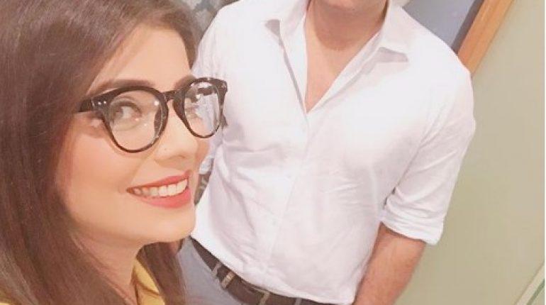 See Beautiful Fabiha Sherazi with Humayun Saeed