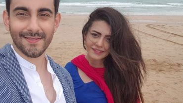 See Bilal Khan and Zara Noor Abbas Shooting for their upcoming Drama