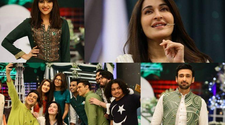 See Shaista Lodhi's Show Pakistan Kay Liye Jiyo on GEO TV