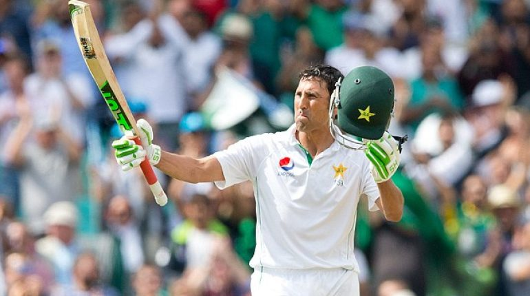 see Representation Of The Impressive Football Skills By The Legend Younis Khan!