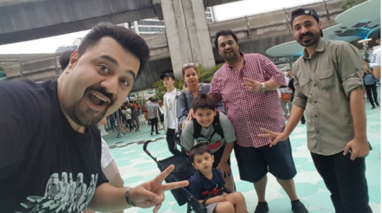 see Ahmed Ali Butt and the Family in Bangkok, Thailand!