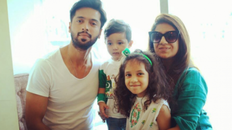 Picture of Fahad Mustafa with his Family on 70th