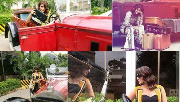 See BTS of Saba Qamar's Beautiful Shoot for Eram Khan Couture